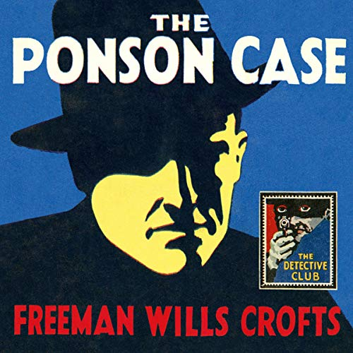 The Ponson Case audiobook cover art