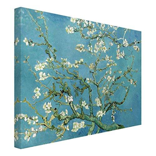 Bilderwelten Cuadro en Lienzo - Vincent Van Gogh - Almendro en Flor - Apaisado 3:4, Cuadros Cuadro Lienzo Cuadro sobre Lienzo Cuadro Decoracion Cuadros Decorativos Cuadro XXL, Tamaño: 90 x 120cm