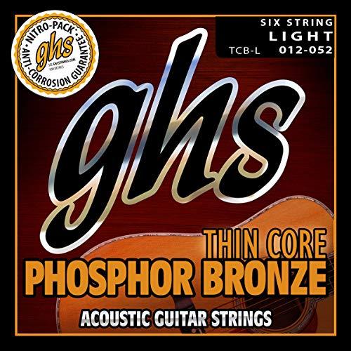 GHS Strings Acoustic Guitar Strings, None (TCB-L)