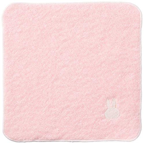 丸栄タオル クールミッフィー もこもこ ミニハンカチ ピンク 1枚入