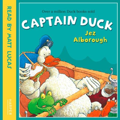 Captain Duck audiobook cover art
