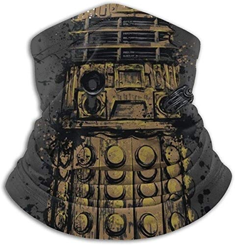 Doctor Who Dalek Exterminate Face Cover Bandanas für Staub, im Freien, Festivals, Sport