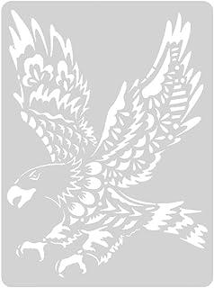 ShiHarau 描画テプレート 絵画ステンシル ステンシル 人気 ステンシルシート 製図用テンプレート 塗装ステンシル 点描ツールテンプレート テンプレート ステンシルシート 再使用可能 描画ツール 絵描き道具 絵図 絵の具 動物スクラッチ 定規