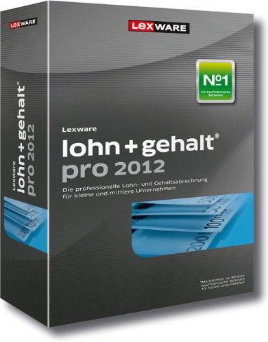 Lexware Lohn+Gehalt pro 2012 (Version 12.00)  (benötigt Zusatzupdate ab 01.06.2012)