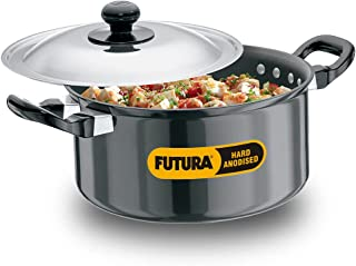 Hawkins/Futura Hard Anodised Cook and Serve Stewpot, 2.25-Liter