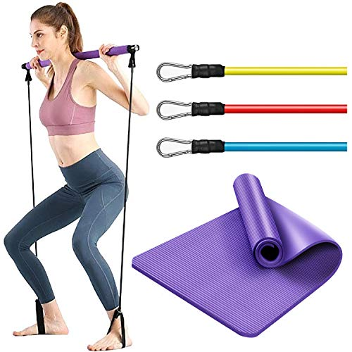 Pilates Bar Workout Kit with Res...