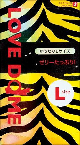 Okamoto LOVE DOME | Condoms | Tiger 12pc (L-size, Extra Jelly)