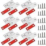 2 Stück Türmagnet Magnetschnäpper Stark Magnetverschluss Schrank Schubladen Magnet Selbstklebend Magnetische Türverschluss Schublade Möbelmagnete Türschließer