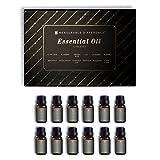 Measurable Difference Essential Oil 12 Piece Set, 6 Fluid Ounce