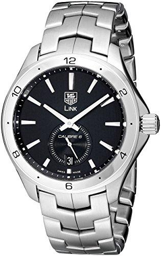 TAG Heuer Men's WAT2110.BA0950 Link Black Dial Watch