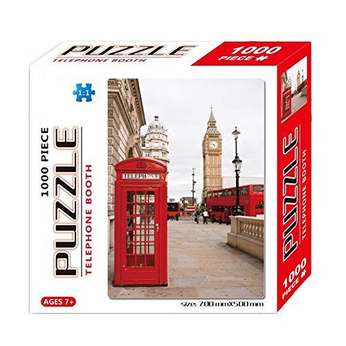 Puzzle 1000 Piezas  marca HUOQILIN