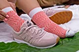 Rainbow Socks - Damen Herren - Sushi Socken Lachs - Lustige Geschenk - 1 Paar - Größen 36-40 - 5