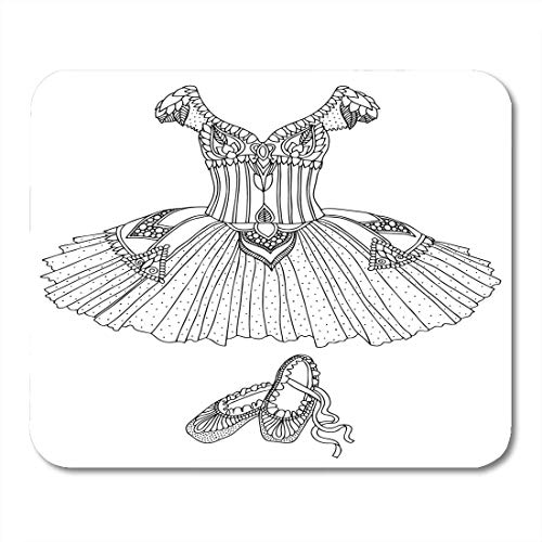 Luancrop Mouse Pads Disfraz de Bailarina y ndash;...