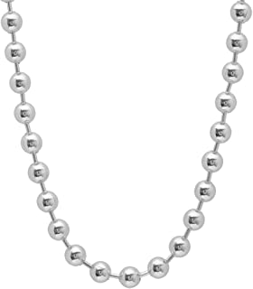 Best silver italian necklace Reviews