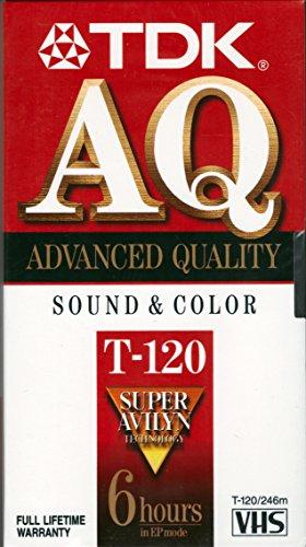 TDK Videocassetta T1202–4–6hr. Peggable