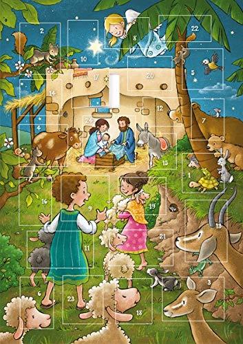 Der magnetische Adventskalender: zum Spielen (Weihnachten für Kinder - Magnetische Adventskalender)