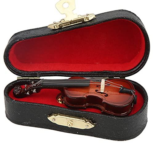 Miniatur Instrument Pin Hemu Kunststoff Lebensechte Metall Cello Anstecknadeln für Kleidung Dekoration Broschen Schmuck