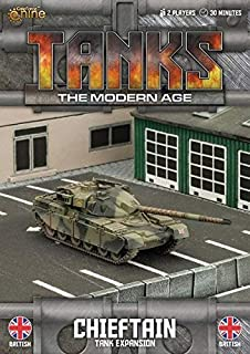 Tanks Miniatures Game - British Gale Force Nine Chieftain