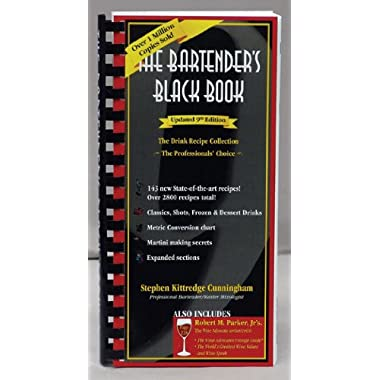 The Bartenders Black Book 10th Edition