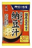 神州一味噌 ひきわり納豆汁 53.7g×12袋