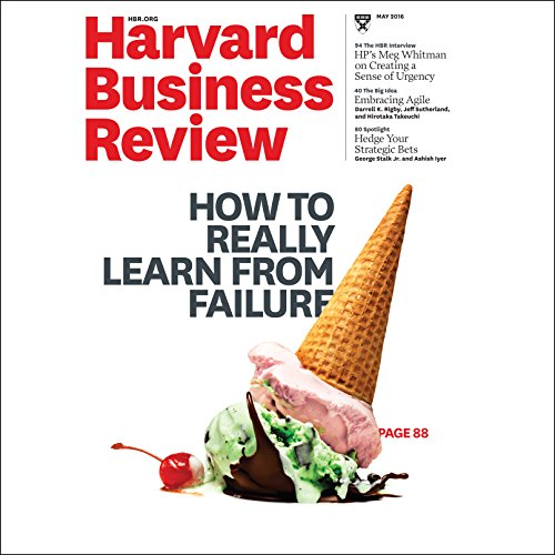 Harvard Business Review, May 2016 audiobook cover art