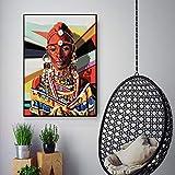 adgkitb canvas Mujeres africanas Lienzo Arte de la Pared decoración Lienzo...