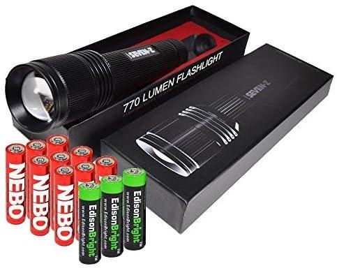 ついに再販開始 Nebo 6414 Seven-Z 770 毎日がバーゲンセール lumens LED 3 with Flashlight Body X camo