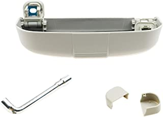 CDEFG Sonnenbrillenhalter Brillenetui für Volvo XC90 V60 Auto Brillenhalter Auto Glasses Case Holder Brillenetui Käfig (Grau)
