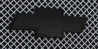 T-Rex 19100B Billet Bowtie Emblem Aluminum Black 1 Pc Bolt-On w/Border Billet Bowtie Emblem