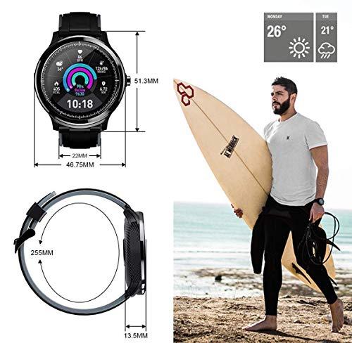 Smartwatch,Reloj Inteligente con Pulsómetro,Calorías,Cronómetros,Monitor de Sueño,Podómetro Pulsera Actividad… 9