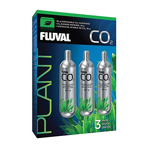 Fluval Disposable 3.35 oz CO2 Cartridge (3 Pack), 17559