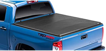Made In The Usa Gator Etx Soft Tri Fold Truck Bed Tonneau Cover Fits 2007 2013 Toyota Tundra 5 5 W O Rail System Bed 59401 Tonneau Covers