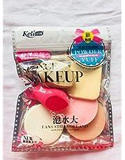 BLUSH BRUSH Make Up Sponge Beauty Blender Puff (Color May Vary)- Set of 6