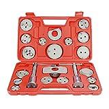 ZUAN TIME Kit de Herramientas de reobertura de pistón de Freno de Freno de calibrador de Discos 22pcs Coche de reparación de automóviles (Color : 22pc Set)