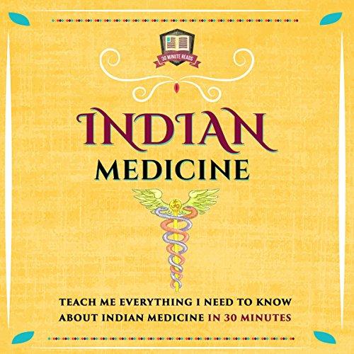 Indian Medicine audiobook cover art