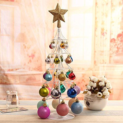 Decorazioni Natalizie Desktop Mini Albero Di Natale In Ferro Battuto Albero Di Natale Albero Puntelli Decorazione Natalizia Ornamenti