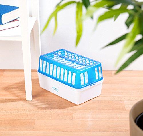 Sichler Haushaltsgeräte - Deumidificatore con granulato da 1,2 kg, fino a 2,5 l, per ambienti fino a 50 m2 (deumidificatore granulato)