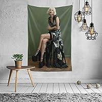 Taylor Alison Swift テイラースウィフトタレント写真集 タペストリー インテリア 壁掛け おしゃれ 室内装飾 多機能 寝室 カーテン おしゃれ 個性ギフト 新築祝い 結婚祝い プレゼント ウォール アート(60in*40in)
