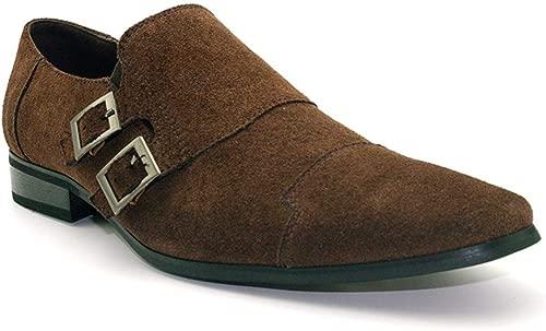 Herren Lederschuhe Schnalle Schuhe Low-Top-Schuhe England Oxford Smoking Hochzeit Schuhe Businessschuhe Anzugschuhe 39-46