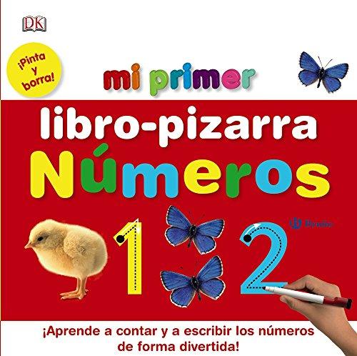 Mi primer libro-pizarra. Números (Castellano - A Partir De 3 Años - Manipulativos (Libros Para Tocar, Jugar Y Pintar), Pop-Ups - Pizarras Mágicas)