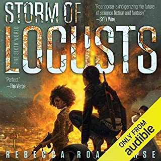 Storm of Locusts                   Written by:                                                                                                                                 Rebecca Roanhorse                               Narrated by:                                                                                                                                 Tanis Parenteau                      Length: 9 hrs and 5 mins     Not rated yet     Overall 0.0