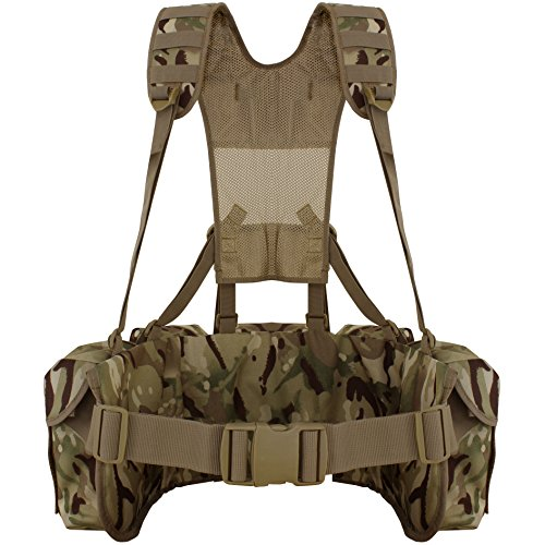 Kammo Tactical MTP Airbourne Webbing Set (3 POUCH)