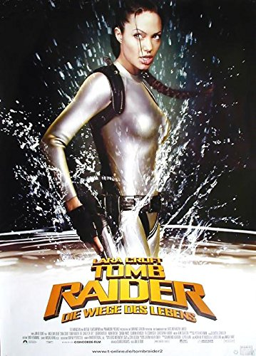 Tomb Raider 2: Die Wiege des Lebens (2003) | original Filmplakat, Poster [Din A1, 59 x 84 cm]