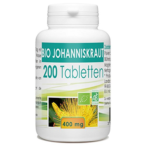 Bio Johanniskraut - 400 mg - 200 Tabletten