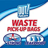 OUT! Dog Poop Bags | Strong, Leak Proof Dog Waste Bags | 9 x 12 Inches