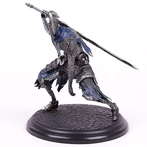 Plushe Dark Souls Amiibo Sun Warrior Sloaire Figura de acción de colección de PVC Modelo de Juguete AbyssWalker18cm