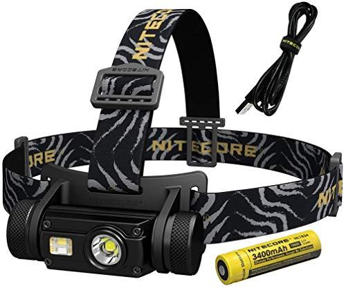 Nitecore Hc65 Stirnlampe, Schwarz, Einheitsgröße