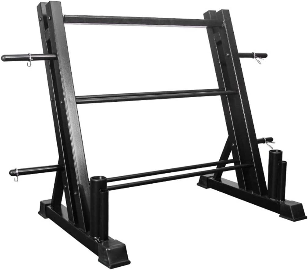 TUTAVIAW 3 激安通販 Tier Dumbbell Rack Board オリジナル Ver Weight Storage and Dual