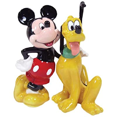 Salt & Pepper Shakers - Disney - Mickey & Pluto Bff New Licensed Toys 18915 by Westland