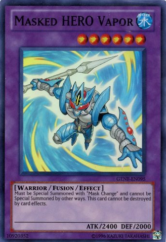 Yu-Gi-Oh! - Masked Hero Vapor (GENF-EN095) - Generation Force - Unlimited Edition - Super Rare